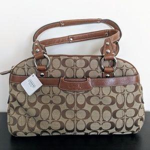 Coach signature satchel
